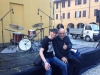 with Peter Erskine in Parma